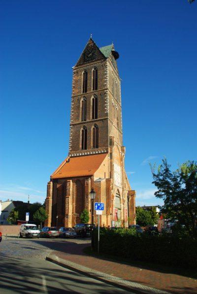 Turm der Marienkirche, Wismar