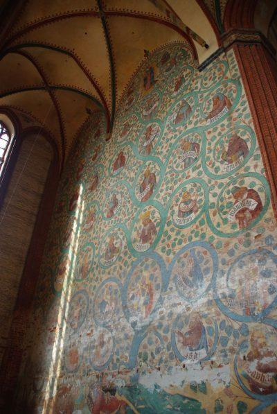 Nikolaikirche, Wandgemälde, Wismar