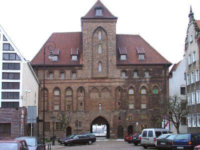 Krantor, Stadtseite, Gdańsk