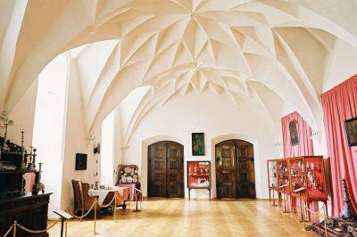 Burg des Ermländischen Kapitels, Innen, Olsztyn