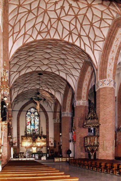 St.-Jakobi-Kirche, Innen, Olsztyn