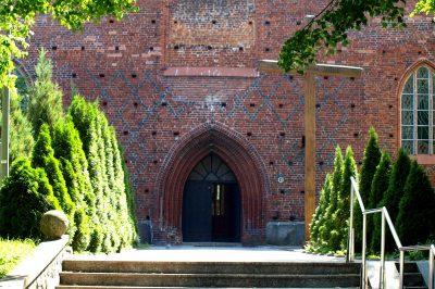 St.-Marien-Kirche, Portal, Sławno