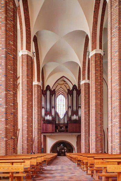 Kathedrale St. Jakobi, innen, Szczecin