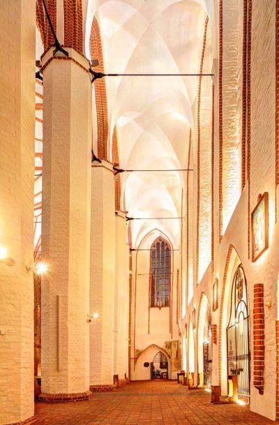 St.-Johannes-Evangelist-Kirche, Seitenschiff, Szczecin