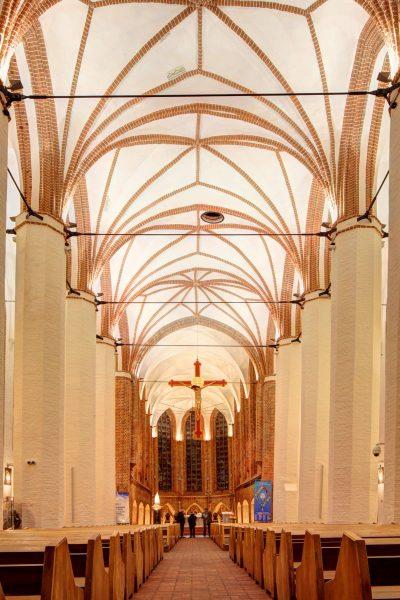 St.-Johannes-Evangelist-Kirche, Blick auf den Altar, Szczecin
