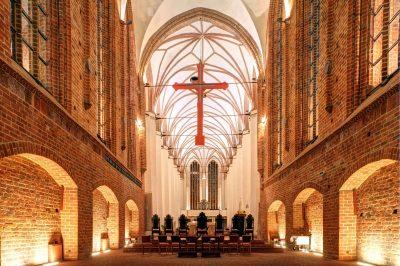 St.-Johannes-Evangelist-Kirche, Chor, Szczecin