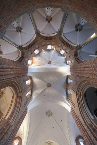 Dom zu Roskilde, Gewölbe