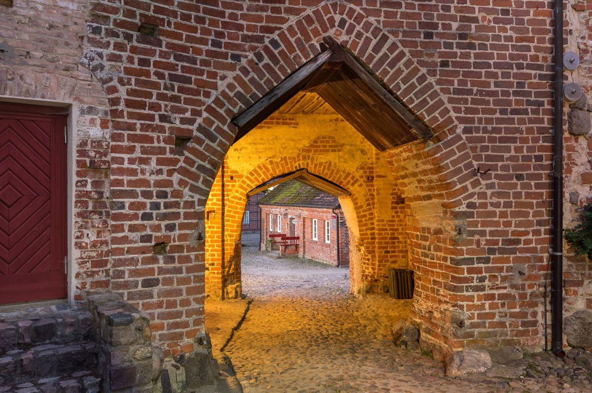 Höhenburg, drittes oberes Tor, Burg Stargard