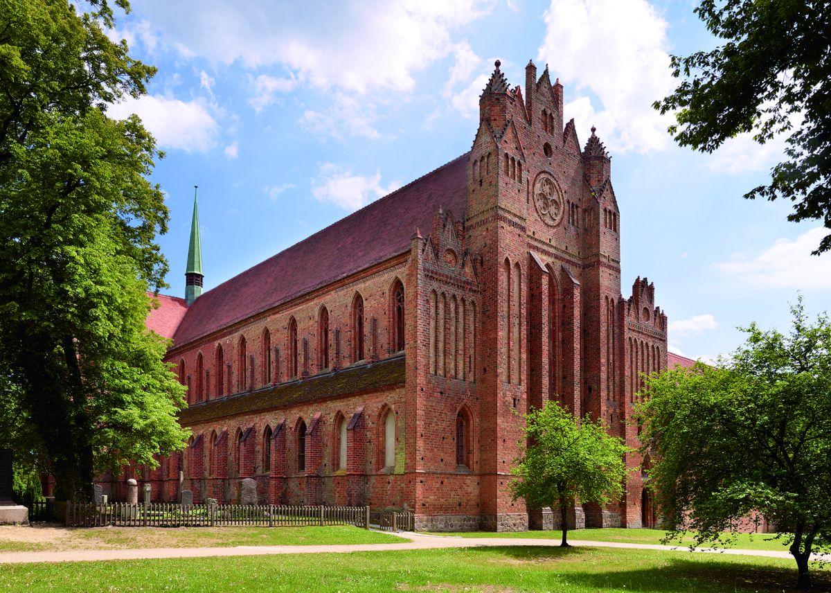 Kloster Chorin, Westgiebel