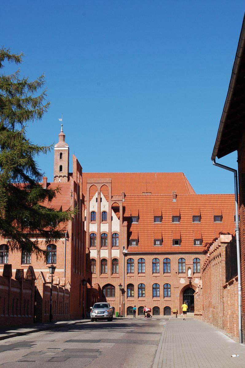 Frauenkloster - der ehemalige Zisterzienserinnen- und Benediktinerinnenklosterkomplex, Chełmno (Kulm)