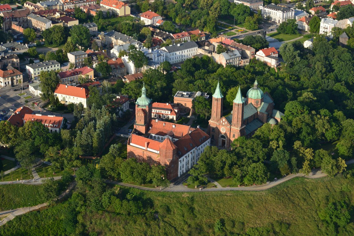 Relikty zamku i dawne opactwo benedyktynów, Płock